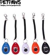 PetPaws - Training clicker voor de hond - Rood