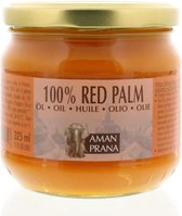 Amanprana Red Palm Olie - 325 ml - Voedingssupplement
