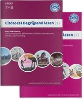 Boek cover Citotoets begrijpend lezen 1; Groep 7+8 van