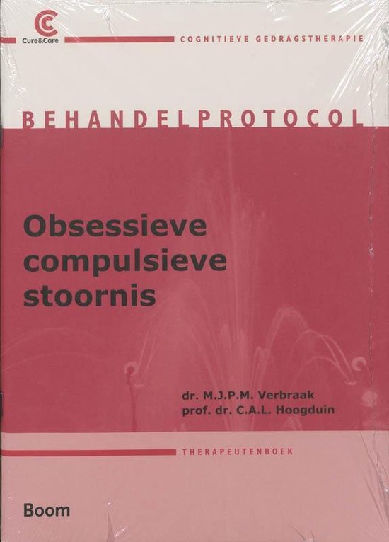 Cover van het boek 'Obsessieve-compulsieve stoornis behandelprotocol / druk 3'