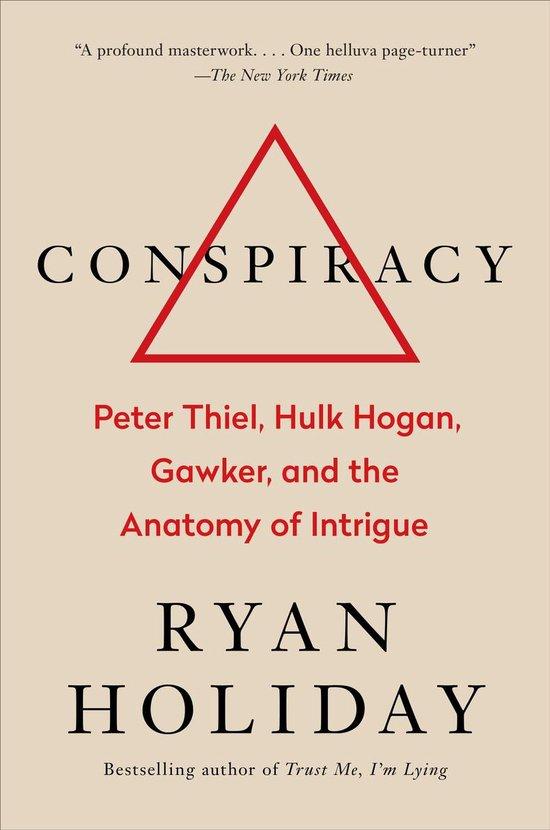 Boek cover Conspiracy van Ryan Holiday (Hardcover)
