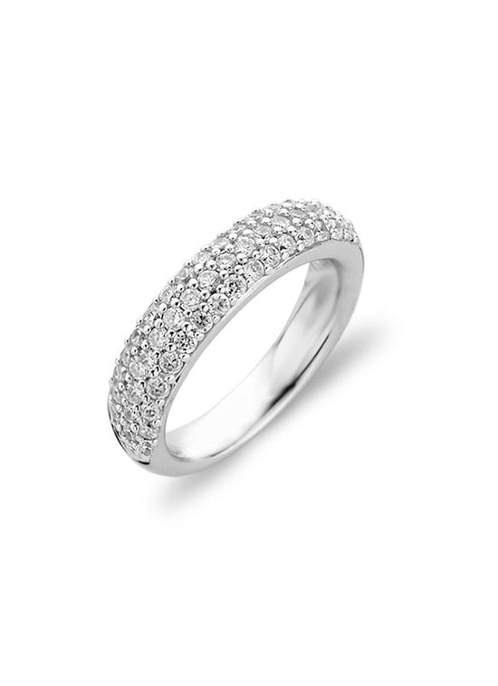 TI SENTO Milano Ring 1304ZI - Maat 60 (19 mm) - Gerhodineerd Sterling Zilver