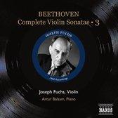 Beethoven: Violin Sonatas 3