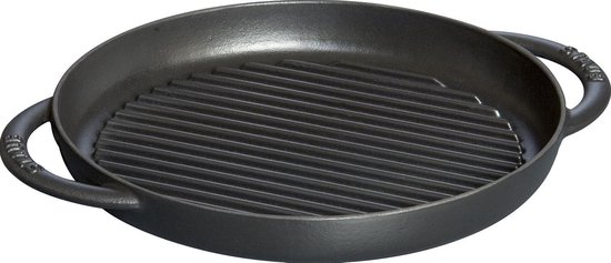 Staub pure Grill - 26 cm - Zwart