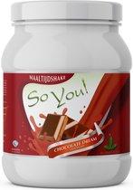 SoYou! Maaltijdshake Chocolate Dream zonder kunstmatige zoetstoffen!