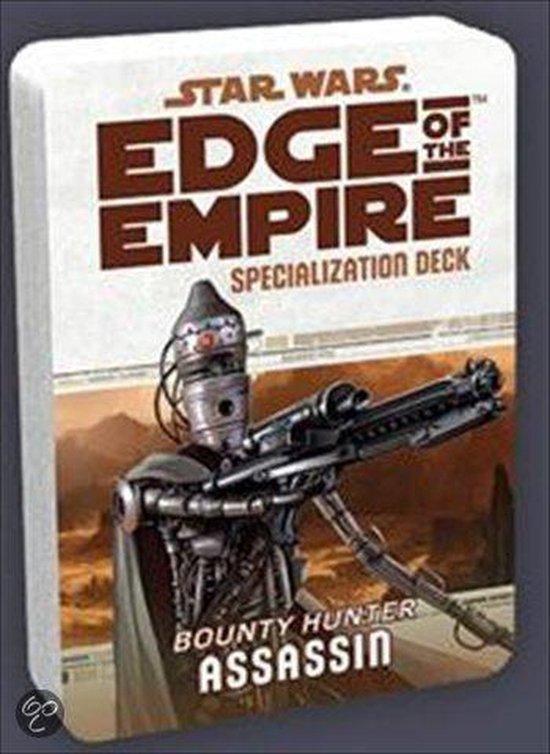 Afbeelding van het spel Star Wars Edge of The Empire Assassin Spec.Deck - Kaartspel