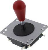 ArcadeWinkel Batttop Arcadefighter arcade joystick met rode druppelbal (4-8 richtingen instelbaar), rood