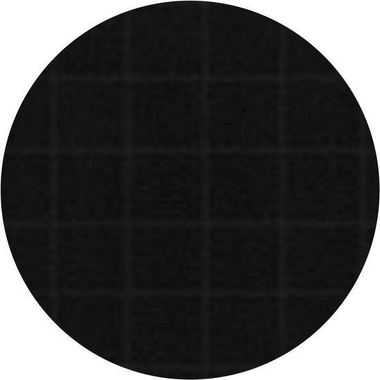 DDDDD Block - Thee- en Keukendoekset - Black - 2 x 2 Stuks