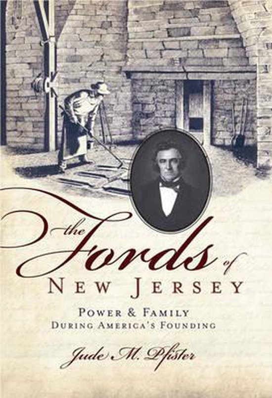 Boek cover The Fords of New Jersey van Jude M. Pfister (Paperback)