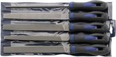 Werkplaatsvijlen-assortiment H2 250mm 5-delig