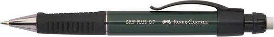 Vulpotlood Faber Castell GRIP Plus 0,7mm groen metallic