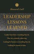 Leadership Lessons Learned