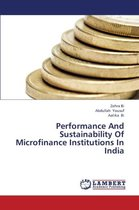 Performance and Sustainability of Microfinance Institutions in India