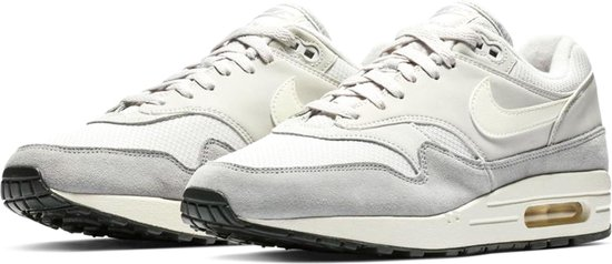 | Nike Air Max 1 Sneakers Maat 43 Mannen witgrijs