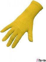 Therapeutische handschoenen - Pin Up de Paris - S/M - Geel