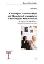 Knowledge of Interaction Styles and Dimensions of Interpretation in Interreligious Adult Education, 11