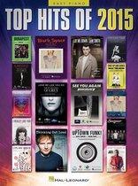 Boek cover Top Hits of 2015 - Easy Piano van Hal Leonard Publishing Corporati