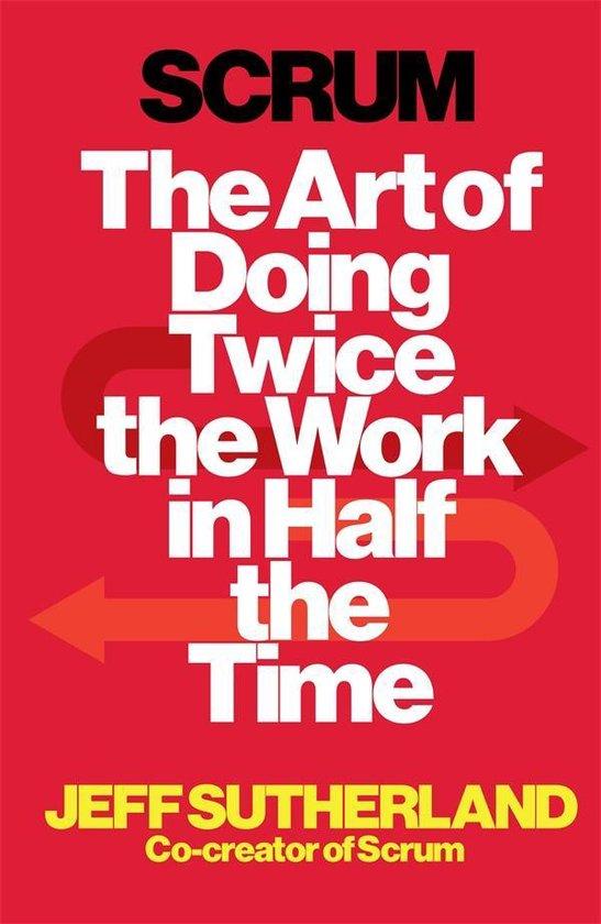 Boek cover Scrum van Jeff Sutherland (Paperback)