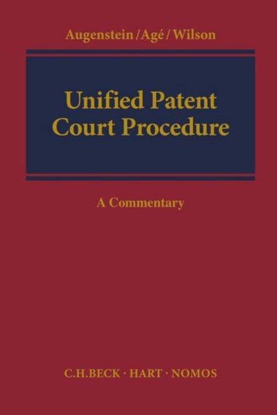 Afbeelding van Unified Patent Court Procedure