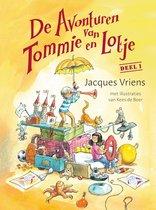 Boek cover Tommie en Lotje - De avonturen van Tommie en Lotje van Jacques Vriens (Onbekend)