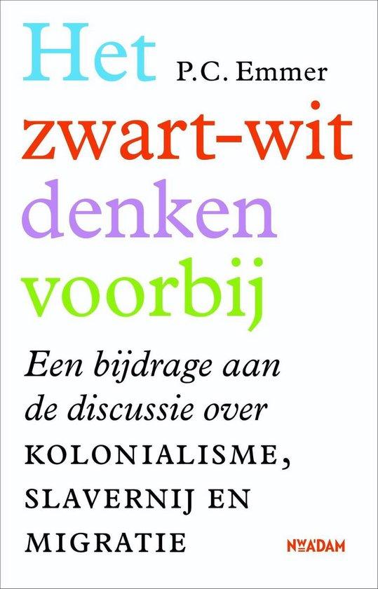 Boek cover Het zwart-witdenken voorbij van Piet Emmer (Onbekend)