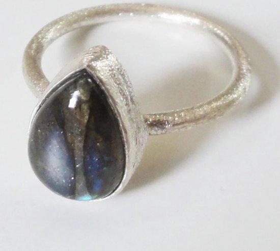 Wonderbaarlijk bol.com   Handgemaakte Zilveren Ring   Labradoriet Natuursteen YV-16