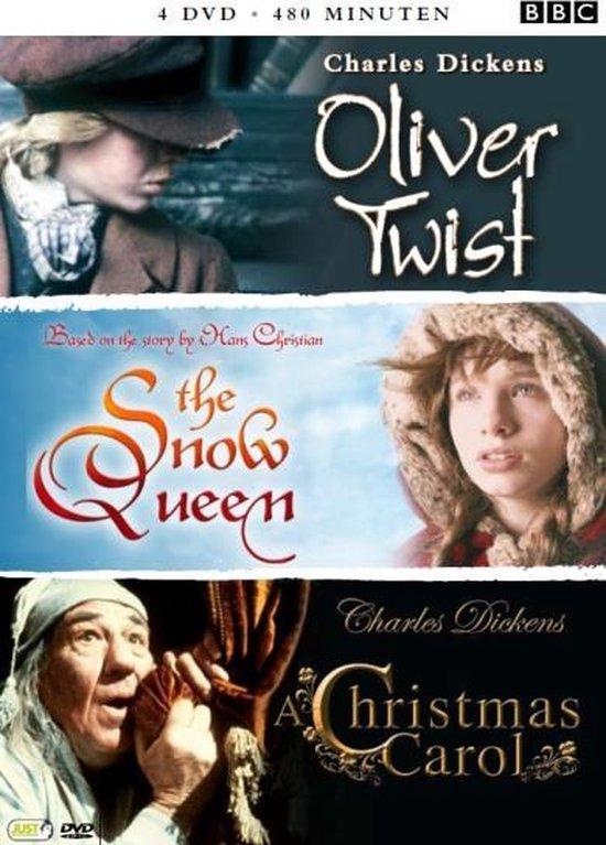 Cover van de film 'Snow Queen / Oliver Twist / Christmas Carol'