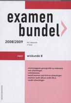 Examenbundel / 2008/2009 Vwo / Deel Wiskunde B
