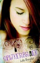 Boek cover Designerjurkje vs spijkerbroek van Lola Douglas