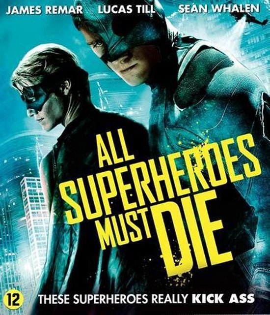 Cover van de film 'All Superheroes Must Die'