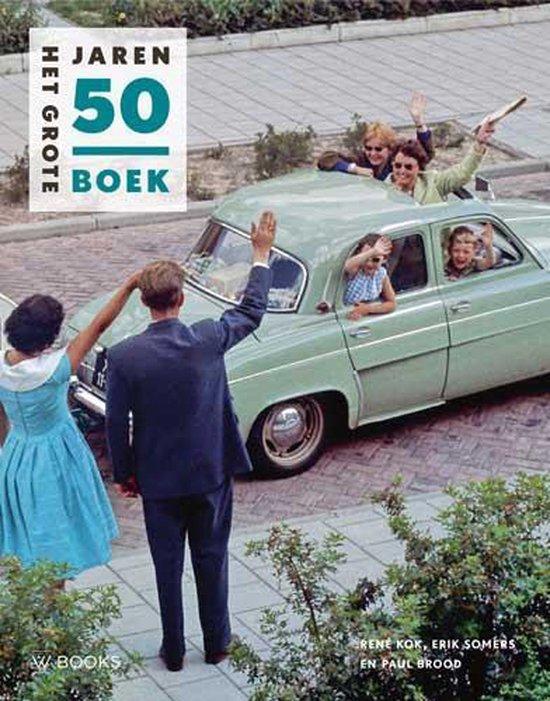 Boek cover Het grote Jaren 50 boek van René Kok (Hardcover)