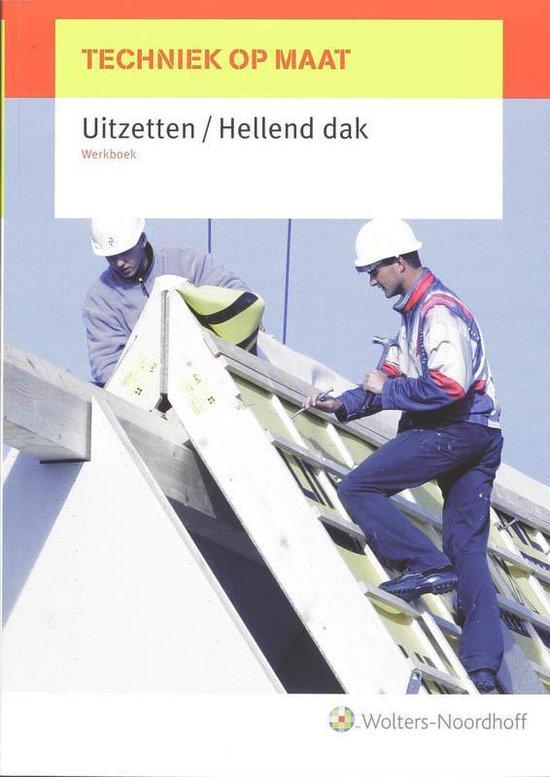 Techniek op maat / Uitzetten/Hellend dak / deel Werkboek - P.G. Jellema |