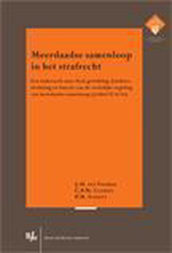 Publicaties van het E.M. Meijers Instituut 218 - Meerdaadse samenloop in het strafrecht - J.M. Ten Voorde |