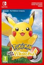 Afbeelding van Pokémon: Lets Go, Pikachu! - Nintendo Switch Download