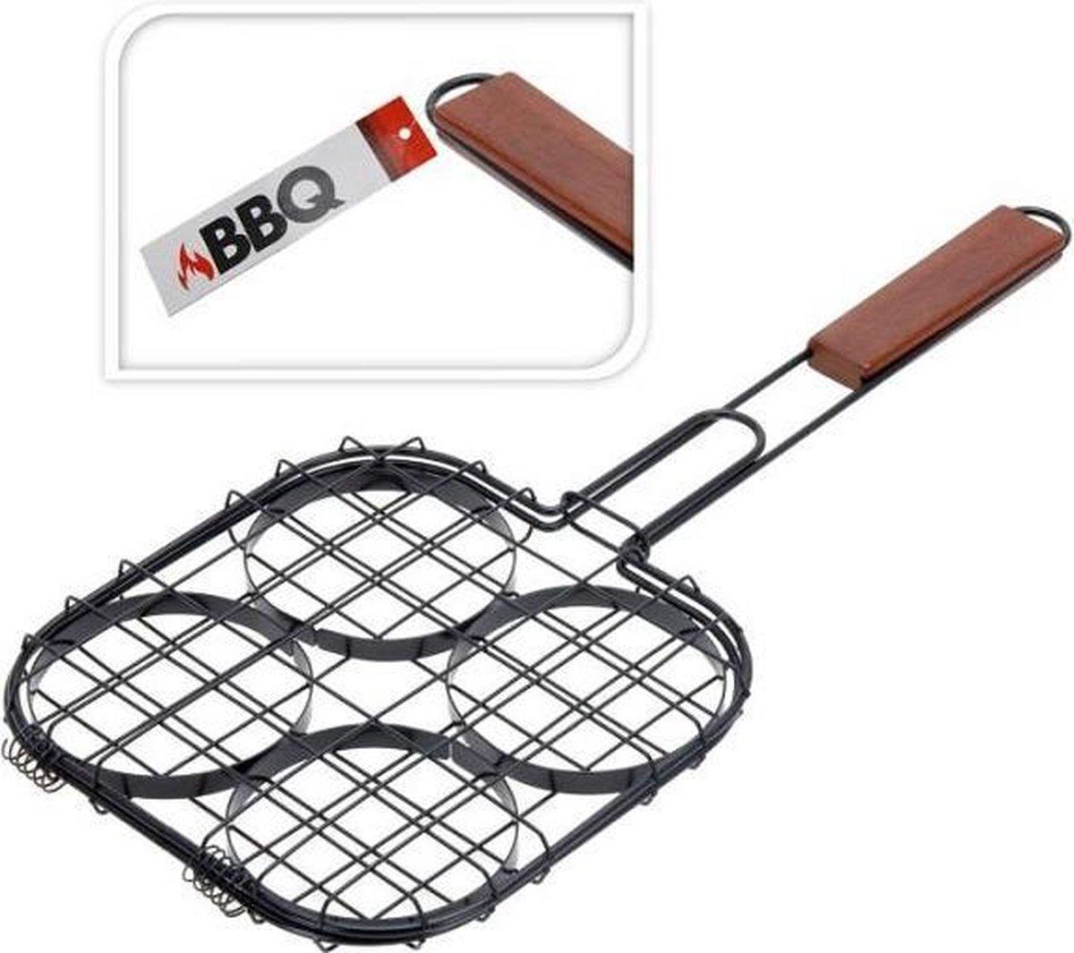 Krumble BBQ Hamburger grillklem voor op de barbecue