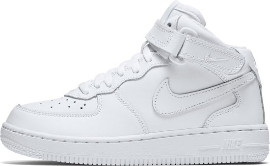 Nike Force 1 Mid (PS) Sneakers Kinderen WhiteWhite White