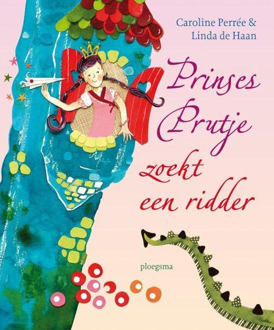 Boek cover Prinses Prutje Zoekt Een Ridder van Caroline Perrée (Hardcover)
