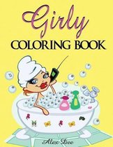 Girly Coloring Book