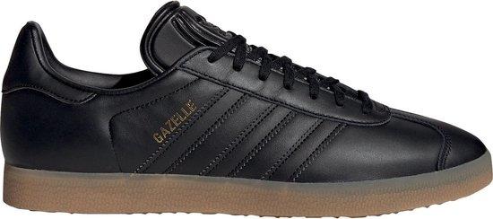 adidas Gazelle Sneakers - Maat 39 1/3 - Unisex - zwart/bruin