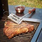 MikaMax BBQ Branding Iron - Barbecuegereedschapset - Bbq Accesoires - Bbq Brandijzer - Incl. 55 letters