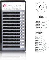Dermarolling Exclusive Silk Mink Wimperextensions Krultype C - Dikte 0.15 - Lengte 10mm.