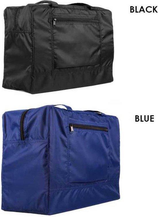 Opvouwbare Handbagage Tas - Zwart -