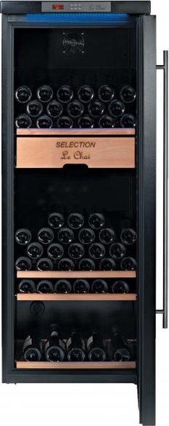 Koelkast: Le Chai  LMV1380H  - Wijnkoelkast - 138 flessen, van het merk Le Chai