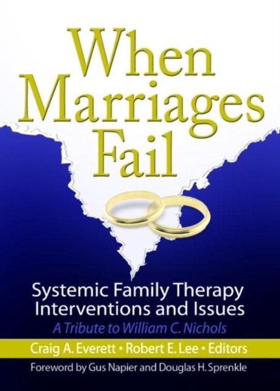 Afbeelding van When Marriages Fail