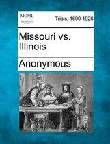 Missouri vs. Illinois