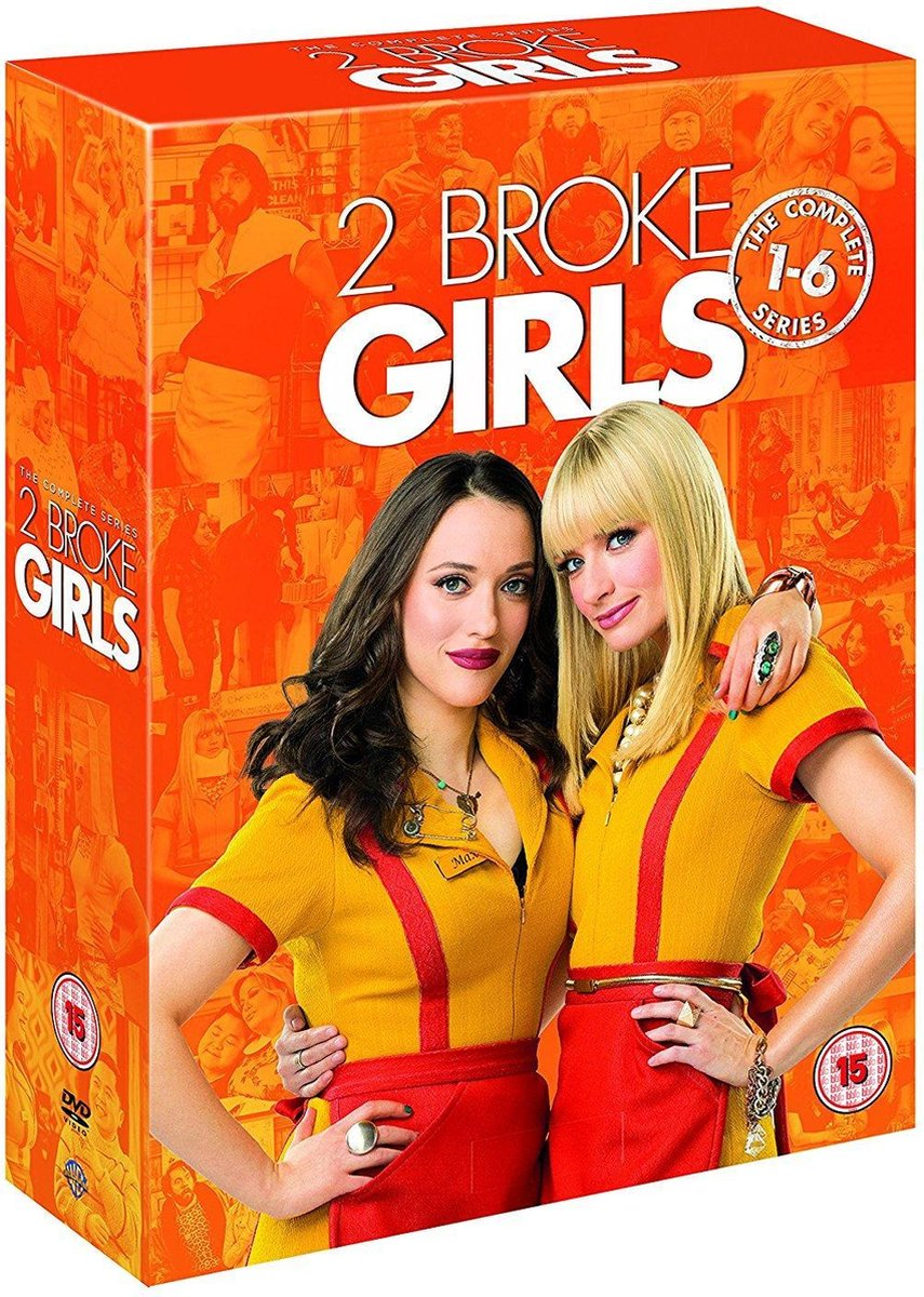 2 Broke Girls - The Complete Collection (Seizoen 1 t/m 6) (Import) - Tv Series