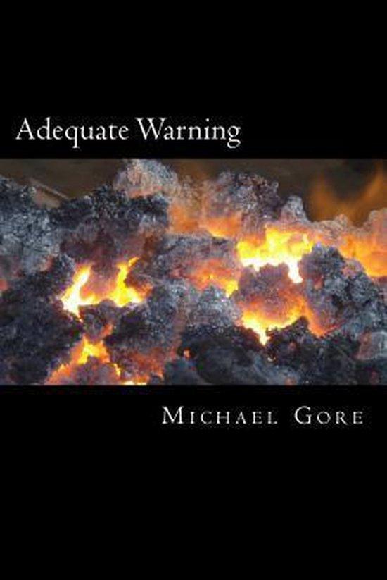 Boek cover Adequate Warning van Ps Michael Gore (Paperback)