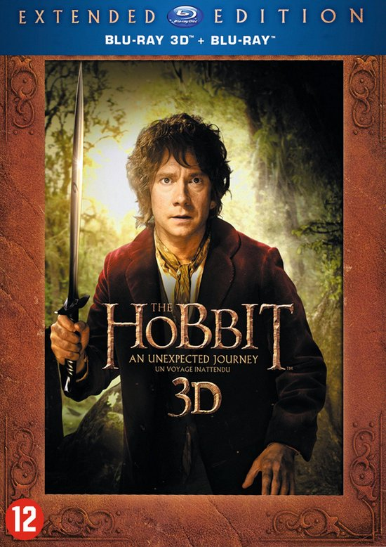 The Hobbit 1 (Extended Edition) (3D & 2D Blu-ray)