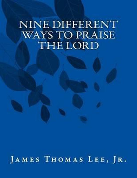 Boek cover Nine Different Ways to Praise the Lord van Mr James Thomas Lee Jr (Paperback)