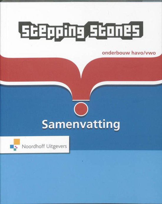 Samenvatting 3 Havo/vwo leerjr 1 t/m 3 Stepping Stones - N. Blom-Poldrugac pdf epub